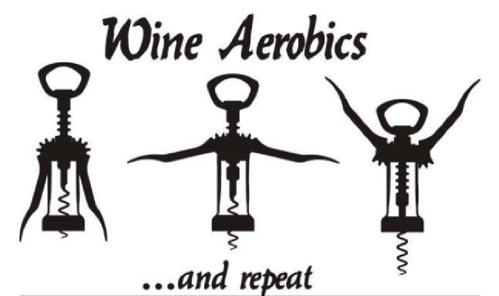 TGIF – Wine Aerobics | Whine And Cheers For Wine